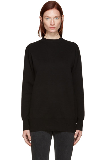 Edit - Black Tie Back Pullover