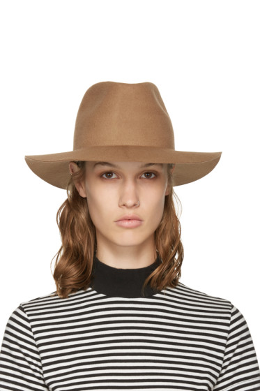 Harmony - Brown Wool Fedora