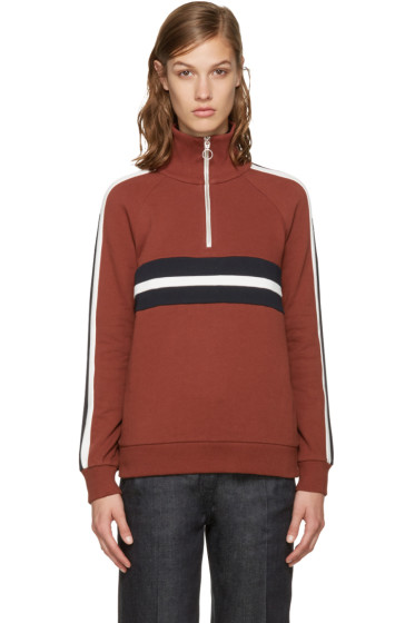 Harmony - Brown Sidonie Zip-Up Pullover