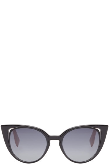 Fendi - Black Cat-Eye Sunglasses