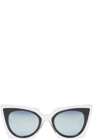 Fendi - Clear Cat-Eye Sunglasses