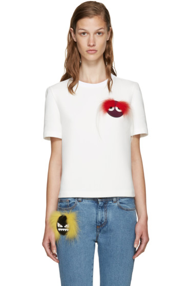 Fendi - White Wonder Monster Pullover