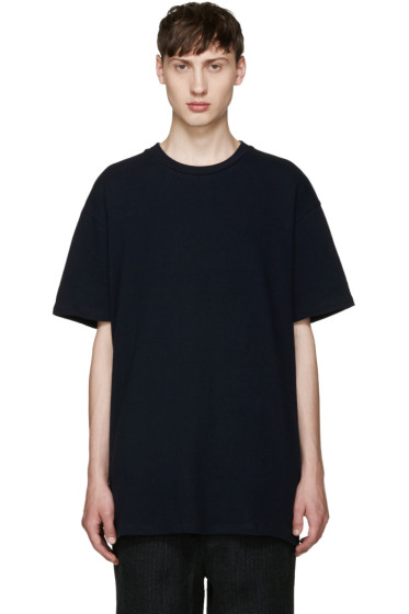 Song for the Mute - Navy Oversized T-Shirt