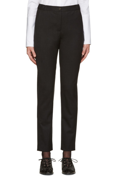 Aalto - Grey Wool Trousers