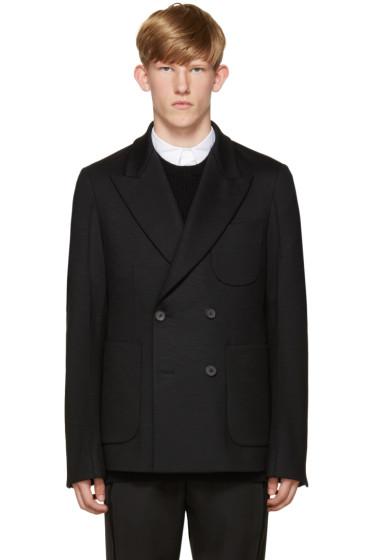 Wooyoungmi - Navy Wool Jersey Blazer