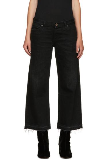 Simon Miller - Black Wide-Leg Bora Jeans