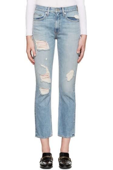 Brock Collection - Blue Wright Jeans