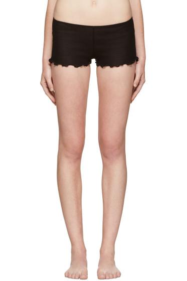 Araks - Black Kat Boy Shorts