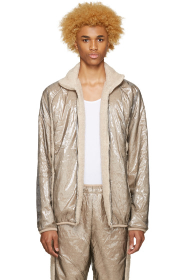Cottweiler - Beige Layered Glaze Track Jacket