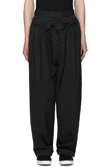 Craig Green - Black Panelled Pyjama Trousers