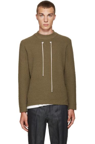 Craig Green - Green Bouclé Sweater