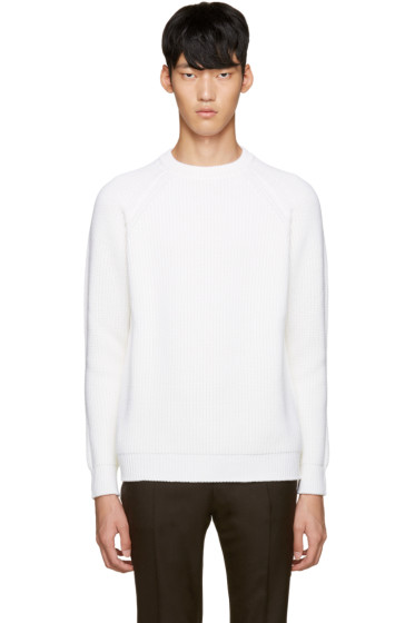 Sunnei - Ivory Wool Sweater