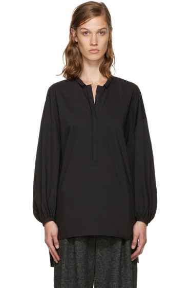 Enfold - Black Voluminous Blouse