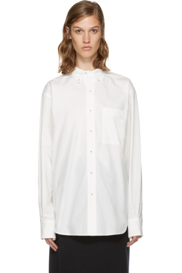 Enfold - White Cotton Shirt