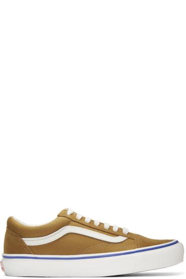 Vans - Brown Suede OG Old Skool LX Sneakers