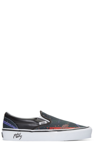 Vans - Black 98 Reissue LX Jalapena Robert Williams Edition Slip-On Sneakers
