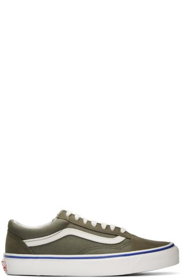 Vans - Green Suede OG Old Skool LX Sneakers