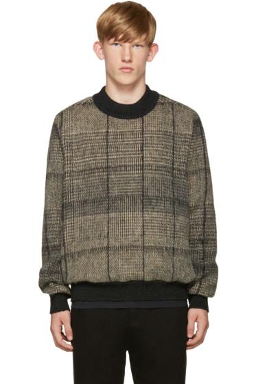 Stephan Schneider - Black & Beige Check Sweater