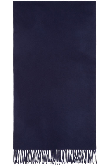 M.R. Editions - Navy Wool Scarf