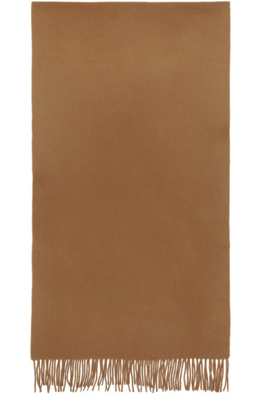 M.R. Editions - Brown Wool Scarf