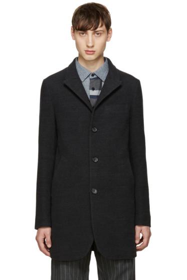 Blue Blue Japan - Grey Wool Coat