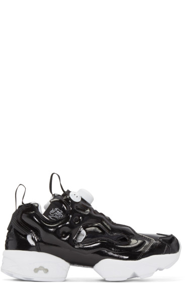 Reebok Classics - Black Instapump Fury Sneakers