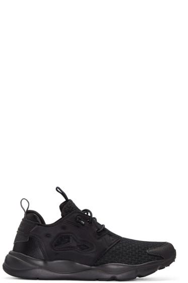 Reebok Classics - Black Furylite Clean Sneakers