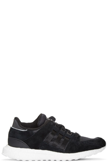 adidas Originals - Black Equipment Support 93/16 Sneakers