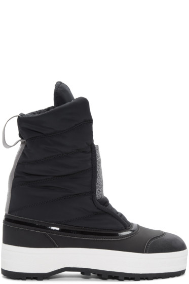 adidas by Stella McCartney - Black Nangator 3 Winter Boots