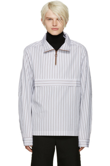 CMMN SWDN - White Striped Ron Jacket
