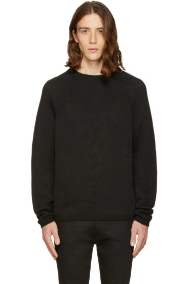 Fanmail - Black Linen Sweater