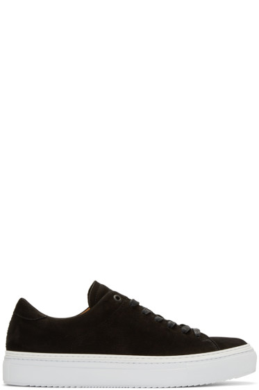 No.288 - Black Nubuck Prince Sneakers