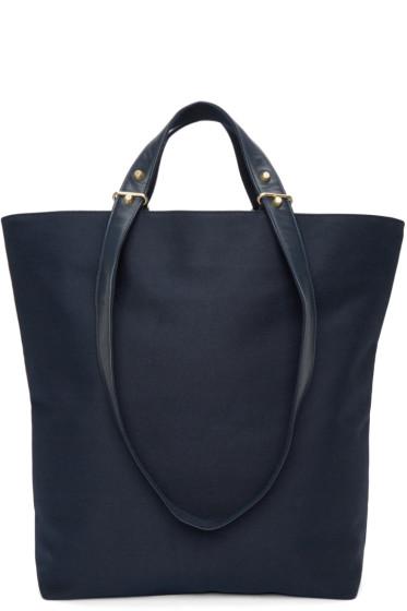 Haerfest - Navy H6 Tote Bag