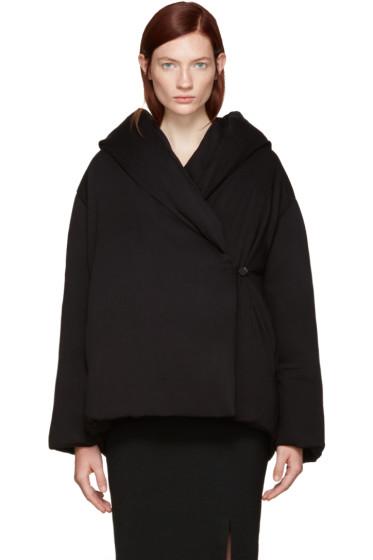 Totême - Black Down Slogen Jacket