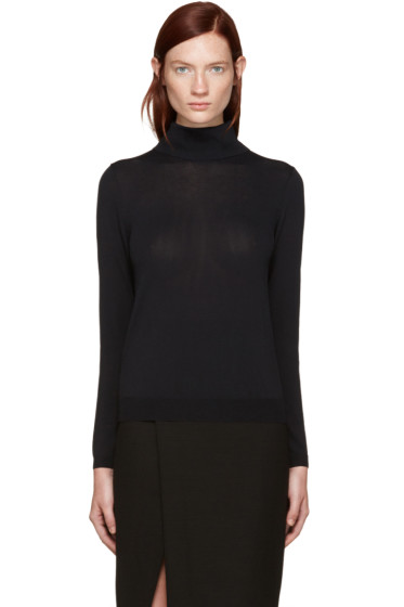 Totême - Black Bordeaux Turtleneck