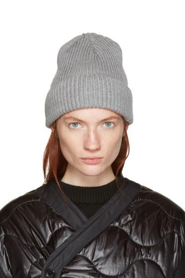Hyke - Grey Wool Beanie