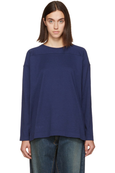 Chimala - Navy Cotton Pullover