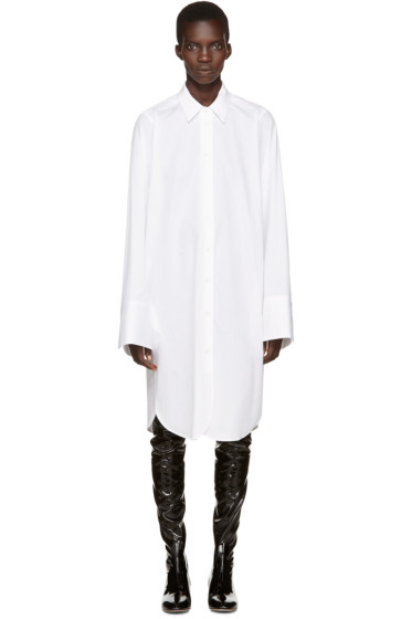 Alyx - White The Arts Shirt Dress