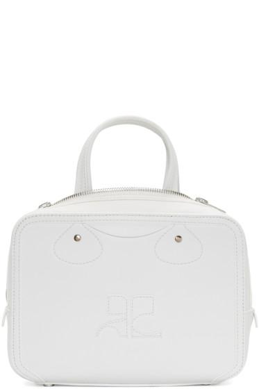 Courrèges - White Logo Bag