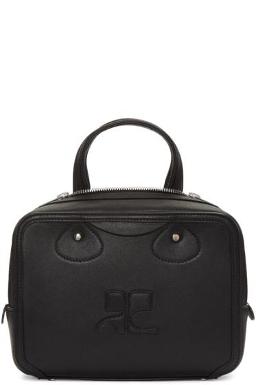 Courrèges - Black Logo Bag