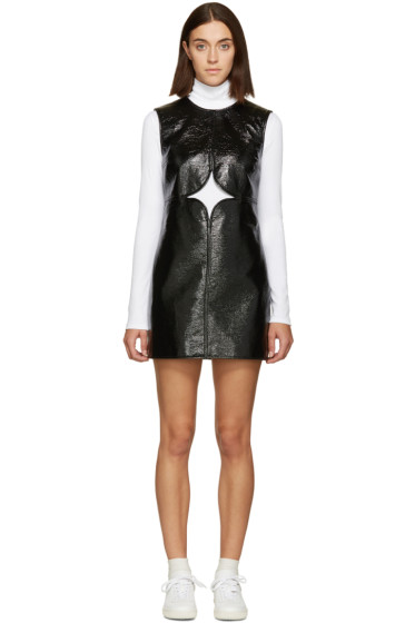 Courrèges - Black Cut-Out Dress