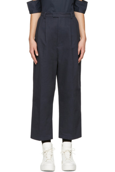 Perks and Mini - Navy Tie Up Pike Trousers
