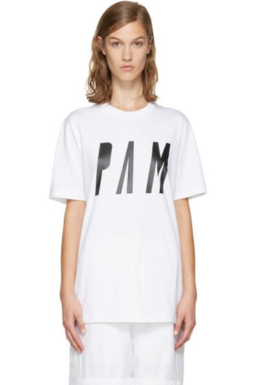 Perks and Mini - White Logo T-Shirt