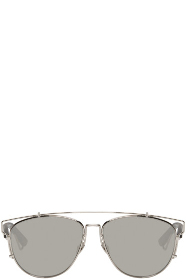 Dior - Silver Technologic Sunglasses