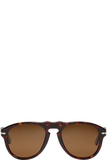 Persol - Tortoiseshell Pilot Sunglasses