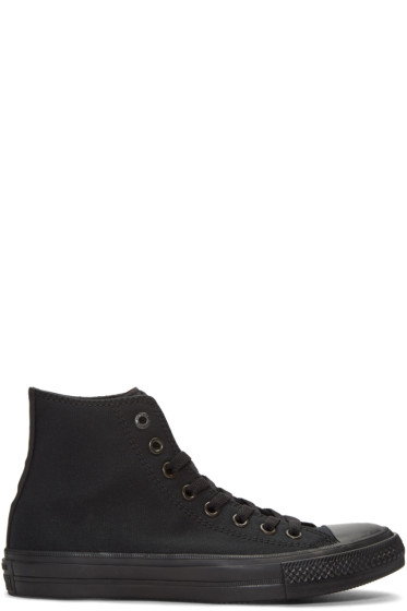 Converse - Black Chuck Taylor All Star II High-Top Sneakers