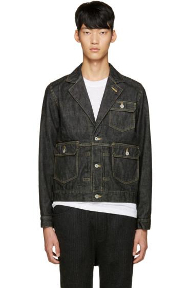 ganryu - Black Denim Jacket