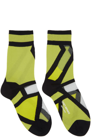 Issey Miyake - Yellow Ray Socks
