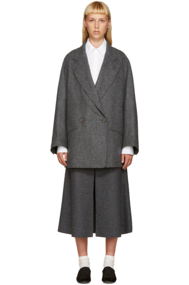 Nehera - Grey Wool Jobo Coat