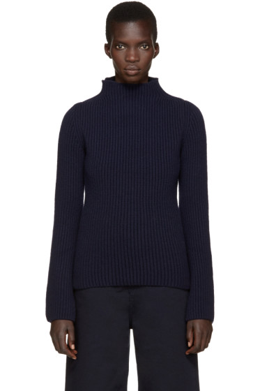 Nehera - Navy Wool Turtleneck